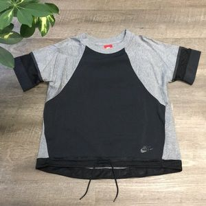 Nike Sportswear T-Shirt with mesh detail